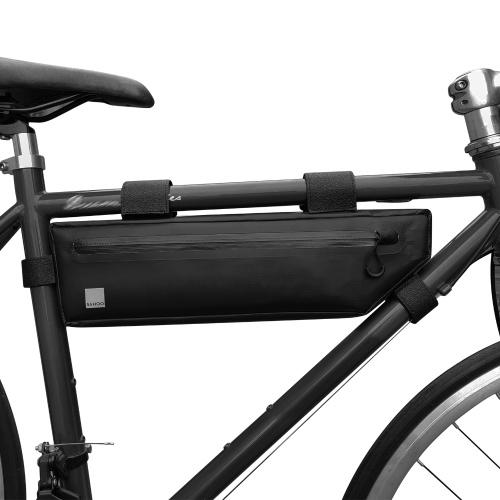 Bolsa com estrutura de bicicleta Bolsa para bicicleta impermeável Bolsa para bicicleta em triângulo Bolsa para bicicleta sob o tubo Bolsa com estrutura frontal Bolsa para bicicleta de estrada de grande capacidade para MTB