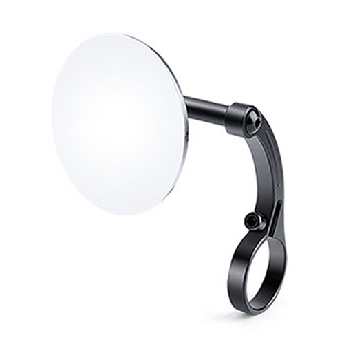 Bicycle Rearview MirrorRoad Bike Handlebar Reflector Rearview Mirror with LightRiding SuppliesSports EquipmentBicycle Accessories