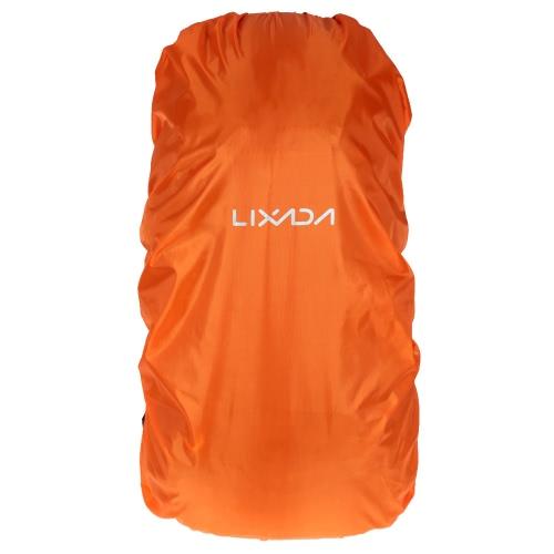 Lixada 40L - 55L Rucksack Rain Cover für im Freien, Wandern, Camping Reisen