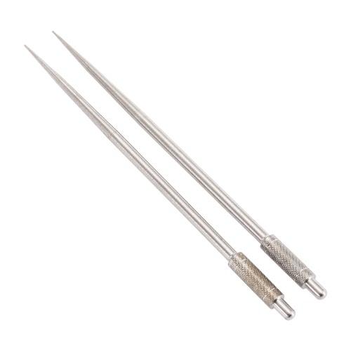 Lixada 2pcs lega di titanio stuzzicadenti Ultralight Rust resistenza anticorrosione stuzzicadenti