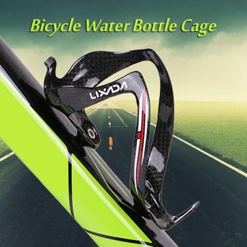 Lixada Full Carbon Fiber Super-light Bicicleta de carretera Bicicleta de montaña Bicicleta de bicicleta Bicicleta de agua Sostenedor de la jaula de la bicicleta