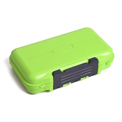 Рыболовную приманку снасти Box Двухсторонний Портативный Рыбалка приманки приманки крючок Аксессуары для хранения контейнеров Case Box 24 Кварталы