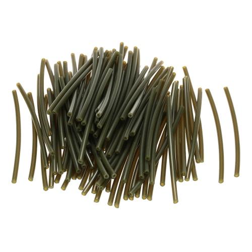 100 Stück Wärme Heizung Schrumpfschläuche Schlauch Gummi-Schlauch Kleine Schlauchleitung Karpfenangeln Zubehör 6cm * 1mm