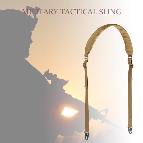 Docooler militärische taktische Sicherheit Zwei Punkte Außengürtel Carbine Sling verstellbaren Riemen
