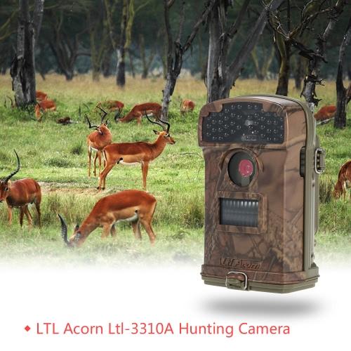 LTL de la bellota del LTL-3310A del juego del rastro de la fauna de caza Scouting HD TFT LCD digital de 940nm IR LED grabadora de vídeo a prueba de lluvia