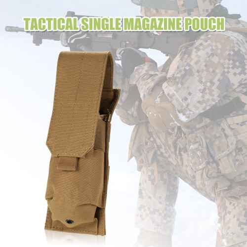 Tactical-Pistole Gewehr Einzel Magazin Mag Pouch 600D Oxford-Gewebe Mithelfer Pouch Utility Tool