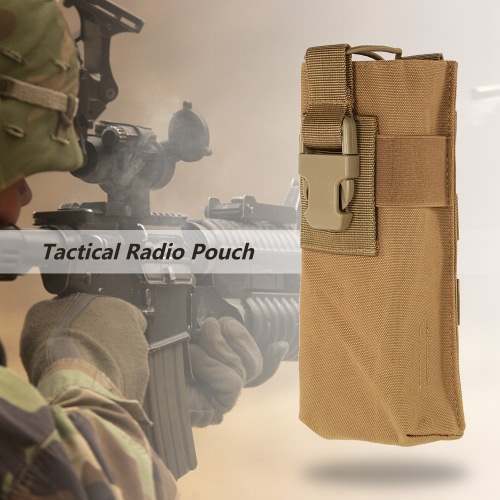 Tactical Sprechanlage Radio Pouch Bag Holster Intercom Accessary Pouch Utility Tool im Freien wandernde kletternde