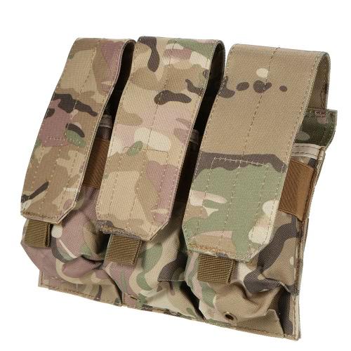 Combattimento tattico pistola modulare tripla Magazine Pouch militare dell'esercito Mag Pouch Bag