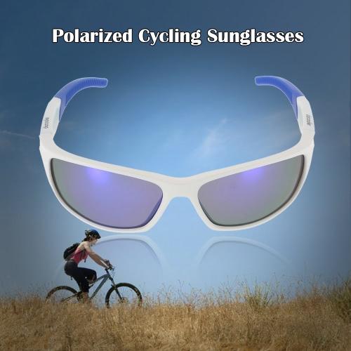 Docooler biciclette polarizzato in bicicletta Occhiali da sole protezione UV di sport esterni Bicicletta Guida Pesca Occhiali da sole Occhiali per Uomo Donna