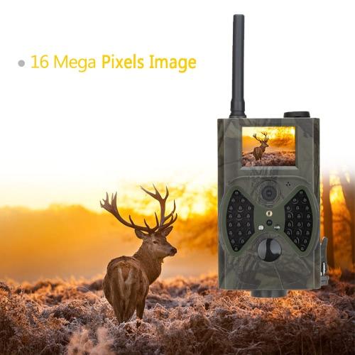 Lixada 2G/3G GSM WCDMA MMS/SMS/SMTP 16MP 0.5S Trigger Time Scouting Hunting Camera 940NM IR LED HD Digital Infrared Trail Camera HC-350M/G