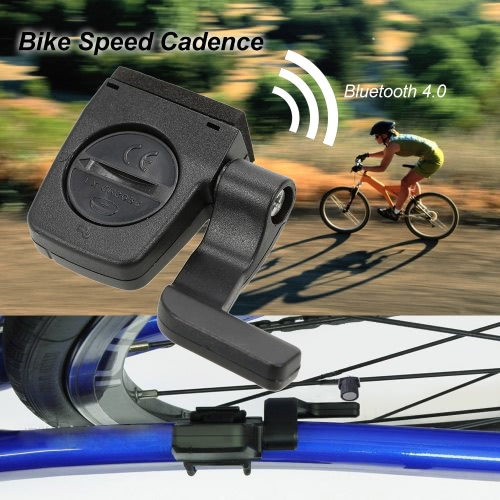 Беспроводная связь BT ANT Фитнес-трекер велосипеда Скорость Cadence Combo Датчик спидометра