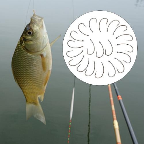 20шт рыболовные крючки Crank крюк Колючая Крючки рыболовные крючки Высокий углеродистая сталь Колючая рыболовный крючок карп Усик Тенч Грубый рыболовные снасти фото