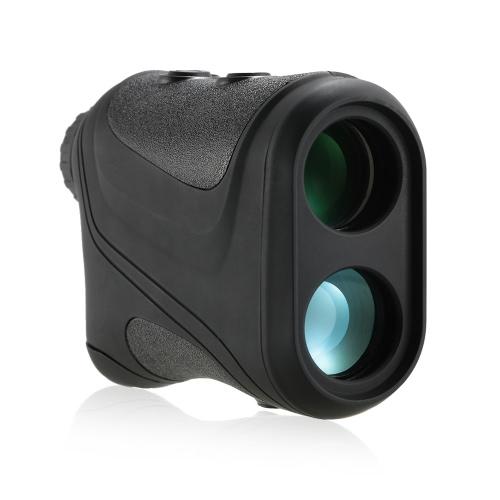 TOMSHOO Outdoor Compact 6X22 600m Laser Range Finder Telescope Monocular Golf Rangefinder Hunting Medidor de distância Speed Tester