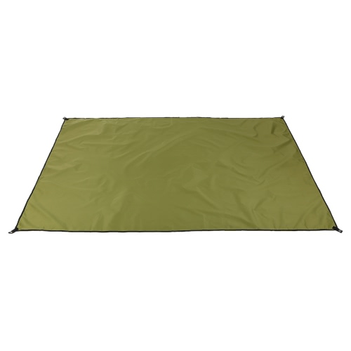 Outdoor Moistureproof Thick Oxford Cloth Zelt Schlafen Pads für Picknick Camping Wandern Groundsheet Blanket Mat Sunshade Shelterts Army Green
