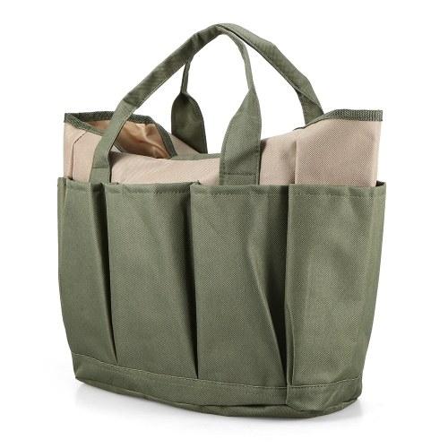 Image of Mehrzweckgarten-Einkaufstasche-Haus-Garten-Werkzeug-Organisator-Dienstprogramm-Speicher-Tasche 9 Taschen
