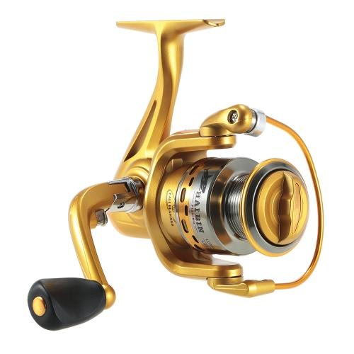 Bobine da pesca a spillo 5,5: 1 bobine di pesca a bobina da pesca con manico pieghevole intercambiabile destro e sinistro