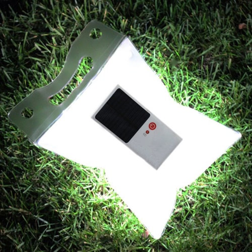 Inflatable LED Rechargeable Lantern
