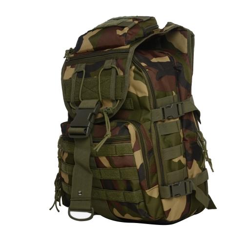 Открытый рюкзак Рюкзак Durable Daypack Pack Большая сумка для камуфляжа с водонепроницаемой утилитой Спортивная сумка для охоты Путешествие в кемпинг Trekking Outdoor Activity