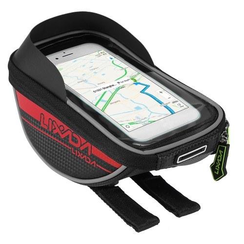Bike Front Frame Bag Cycling Top Tube Mobile Phone Touch Screen Holder Bike Bag