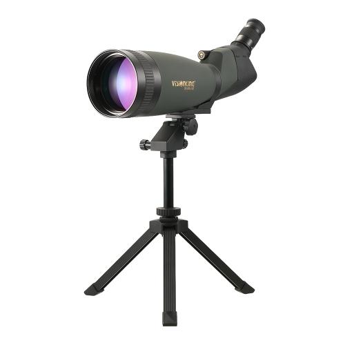Visionking 30-90x100 Угловая пятнистая область BaK4 Водонепроницаемая туманная высота Регулируемый переносной прицел Монокулярный телескоп с штативом Чехол для наблюдения за птицами