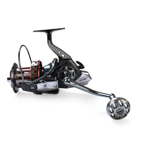 Cuscinetti a sfere 10 + 1BB 4.7: 1 Lega leggera Spinning Fishing Reel Tackle Spool in alluminio Bracci per maniglie pieghevoli Tackle 8000 9000 10000 Serie 12000