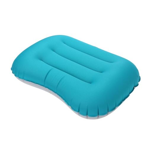 Мини Сверхлегкий Воздух Надувной Подушка Наружный Спящий Путешествие Портативный Мягкий Шея Кемпинг Палатка Мать