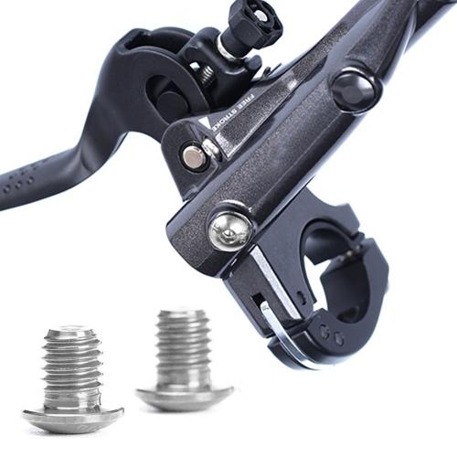 RISCHIO 2 PZ / 4 PZ TC4 Titanium Bike Hydraulic Brake Cylinder Bulloni Bicicletta Cilindro Vite