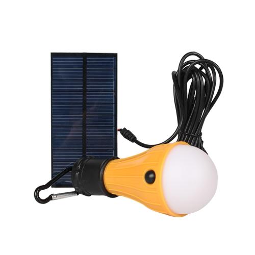 Lámpara de camping solar 165LM
