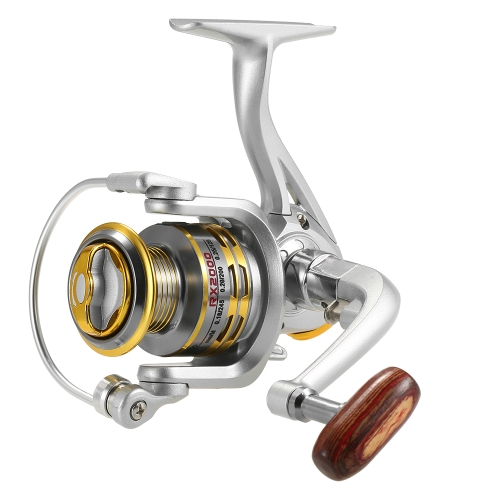 12 rolo de pesca BB Spinning 5.1: 1 Gear Ratio Fishing Reel para River Lake Sea Fishing