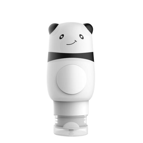 Nachfüllbare Cartoon Cute Animal Shaped Reiseflasche Set Squeezable Silikonflaschen Kit Style
