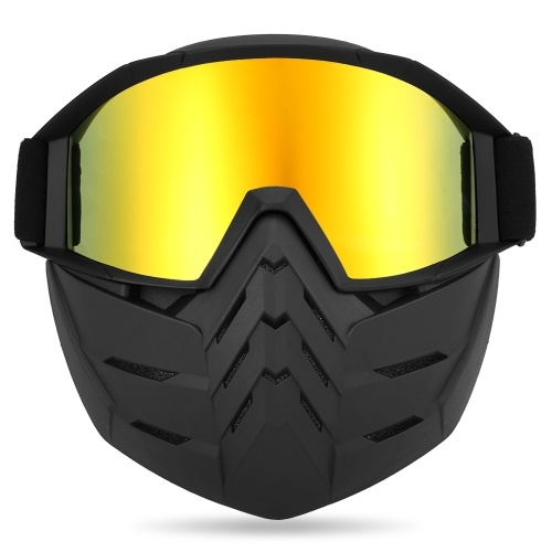 Motorcycling Goggles UVA400 Protection Winter Skiing Goggle Riding Skating Sports Goggle
