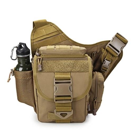 Outdoor Satteltasche SLR Kameratasche Multifunktionale Single Shoulder wasserdicht Rucksack Camouflage Hüfttasche