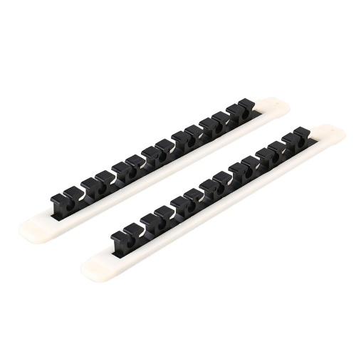 Vertical Horizontal Fishing Rod Rack Pole Storage Holder Image
