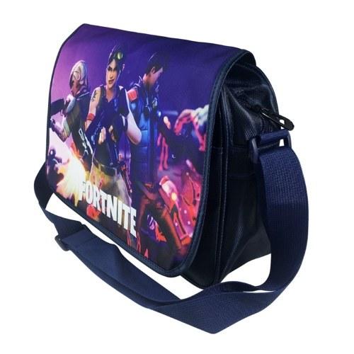 Fortnite Schulter Umhängetasche Canvas Outdoor Taschen Single-Schulter-Tasche