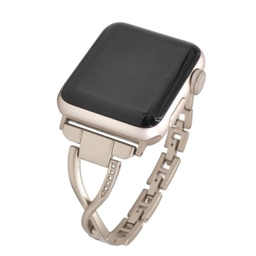Women's Diamond Inserted Strap Bracelet Jewelry Fashion Elegant Wristband