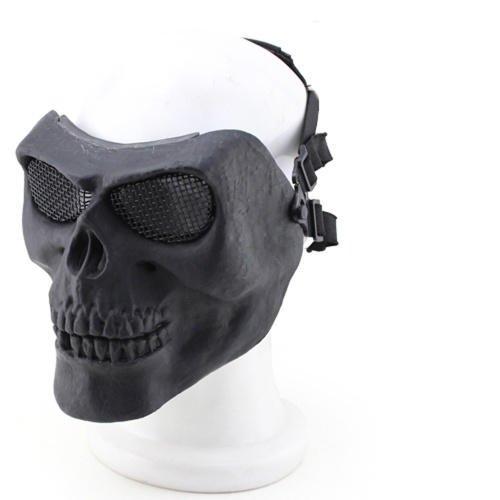 MA-22 Creative Horrible Cosplay Outdoor Halloween Half Full Face Protective Safety Mask Prop фото