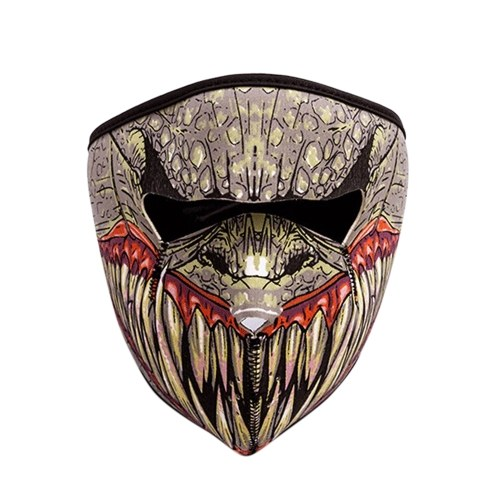 Multifunction Skeleton Face Mask