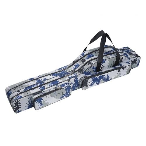 Fishing Bag Outdoor Multifunctional Fishing Rod Pole Storage Bag Fishing Tackle Carry Case Carrier Travel Bag 80cm/90cm/120cm
