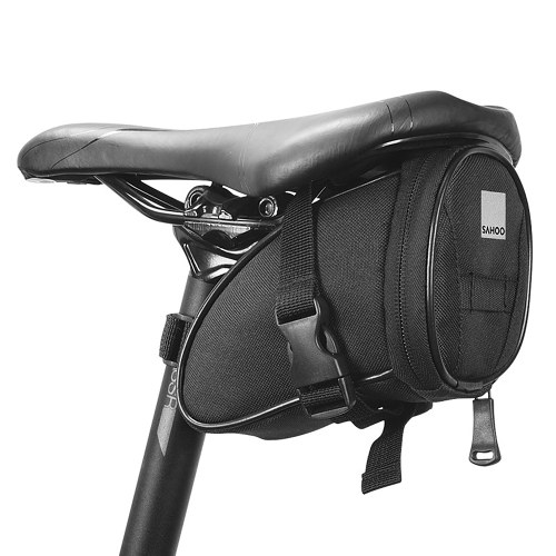 Bicycle Saddle Bag Bike Seat Bag Reflective Cycling Rear Seat Post Bag Large Capacity Tail Rear Bag MTB Road Bike Storage Bag