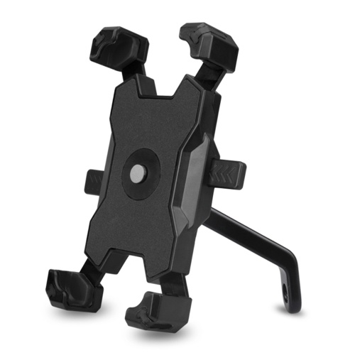 Quick Lock Bicycle Mobile Phone Holder 360¡ã Rotation Adjustable Motorcycle Phone Mount Rear View Mirror Phone Bracket for Mountain Bike Road Bicycle Image