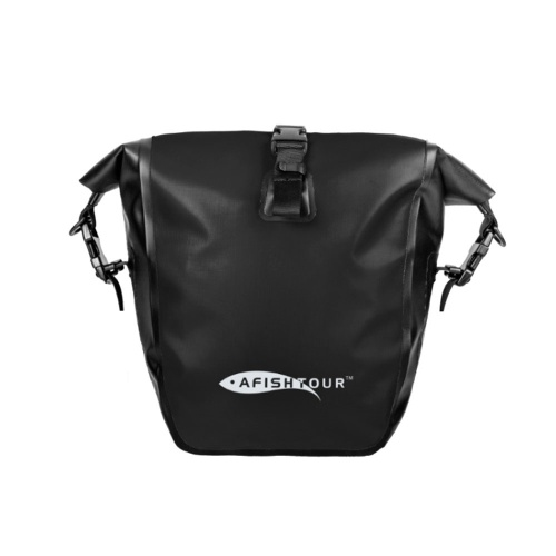 Outdoor Sports Waterproof Bicycle Packs Large Capacity Cycling Bag Long Distance Travel Shelf Bag Bicycle Saddle Bag Luggage Packs Riding Equipment Image