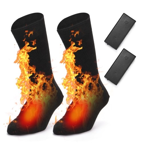 Meias elétricas aquecidas