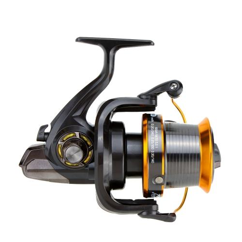 12 + 1BB 13 rodamientos de bolas izquierda / derecha intercambiables mar pesca rueda Metal Spinning Reel
