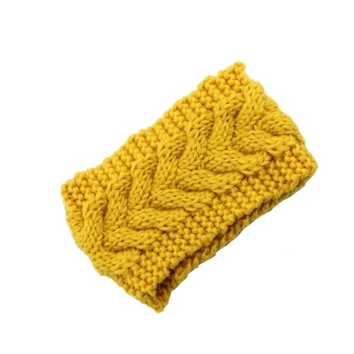 Winter Fashion Women Knitted Turban Headbands