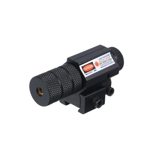 Powerful Mini Red Dot Collimator Sight Scope Weaver Mount Set