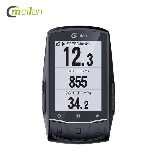 MEILAN M1 GPS Навигация Велосипед Компьютер Педометр Cadence