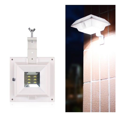 Solarbetriebenes Licht im Freien