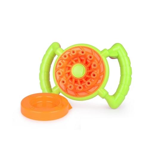 Ventilador de bolhas elétrico engraçado fã brinquedos para crianças presente de aniversário ao ar livre jogando bolha de brinquedo