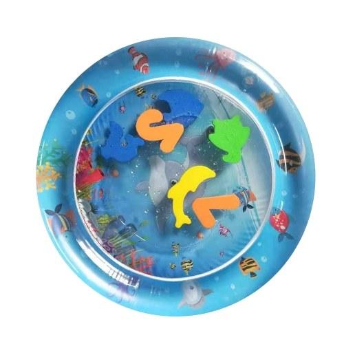 PVC Garden Sprinkle Splash Play Mat Inflatable Water Spray Mats