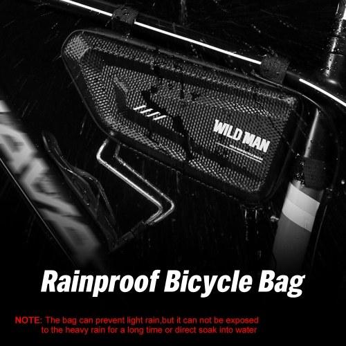 Водонепроницаемая сумка для велосипеда с треугольной рамкой Водонепроницаемая сумка для велосипеда Легкая сумка для хранения велосипедов фото